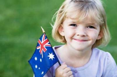 Smiling Australian